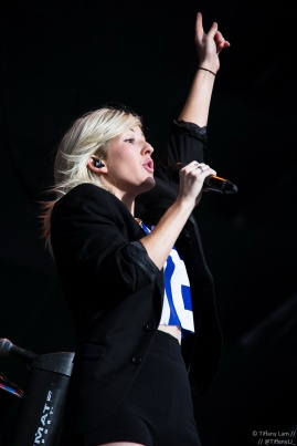 Ellie Goulding @ FEQ (for Into The Crowd Magazine)