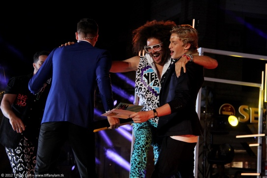 LMFAO + Cody Simpson at MMVA '12